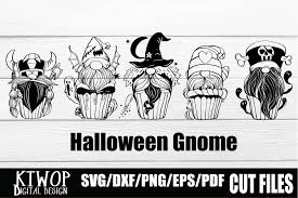 Cute cupcake wrapper svg cutting template files you can use with your cricut© machine and your sure cuts alot (scal) software! Halloween Cupcake Gnome 5 Bundle Graphic By Ktwop Creative Fabrica