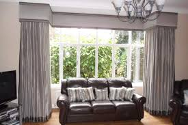 Furniture , 8 Top Window Treatments For Bay Windows Pictures : Square Bay  Curtains