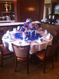 Volleyball Party Decorations Table Decorations Players Table Volleyball Banquet Decorations