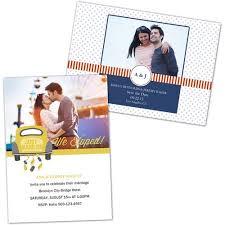 personalized wedding invitations photo greeting cards walmart com