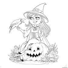 Coloriage Halloween Imprimer