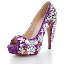 Light Purple High Heels