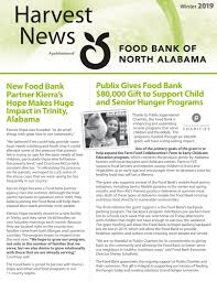 News Letters Newsletters Food Bank Of North Alabama