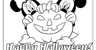Small Picture Mickey and Friends Halloween 2 Free Disney Halloween Coloring