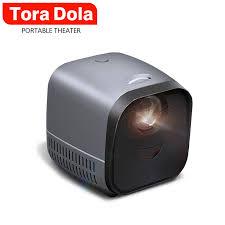 Tora Dola <b>Mini Portable Projector L1</b> 1080P Video Support 3D ...