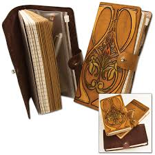 clic leather journal kit going to make this for my niece and nephew