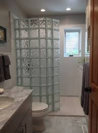 curve glass block shower wall innovate building solutions curveglassblock glassblockshower glassblock