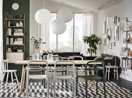 Eine Schöner Skandinavisch Angehauchter Essplatz Ikea