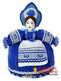 """Купить Баба-грелка на чайник """"Маня в синем"""" - Санкт-Петербург"""
