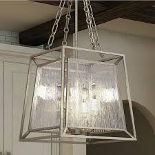 gold four light cage chandelier