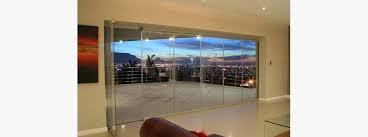 frameless glass bifoling doors frameless folding doors