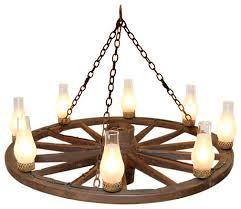 36 wagon wheel chandelier chandalier