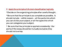 unit division classification ppt video online  apply the principle of division classification logically