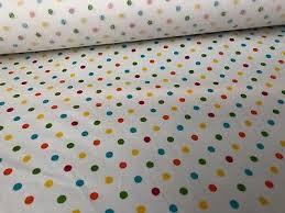 cath kidston spot multicolor oilcloth per yard