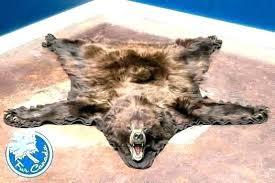 faux bear skin rug faux bear skin rugs fake rug with head ikea faux bear skin