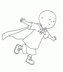 Small Picture Lovely Caillou Coloring Pages 12 In Coloring for Kids with Caillou