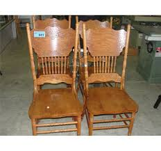 pressed wood oak dining room side chair oak dining room chairs with casters