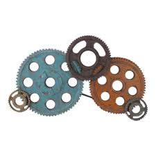 gears wall decor large wall sculptures moe s whole