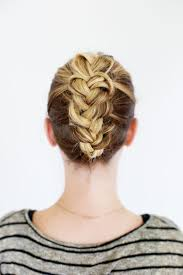 French Braid Updo Hairstyles Tucked Braid Updo A Beautiful Mess