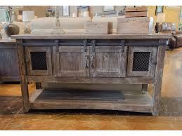 Vintage Occasional Tables F JON1027CONBARNWOOD Barnwood Sofa Table