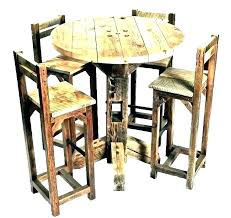 bar height dining table set. Height Table And Chairs Pub Unique Round Tables Bar Dining Set K