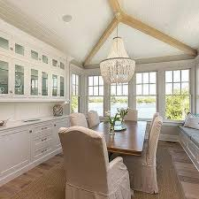 cottage dining rooms. cottage dining room with long built in window seat rooms a