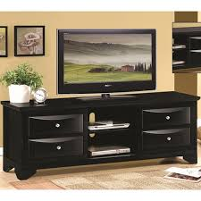 Tv Stand Black Black Wood Tv Stand Steal A Sofa Furniture Outlet Los Angeles Ca