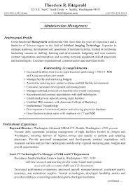 Professional Activities Resume Sample
