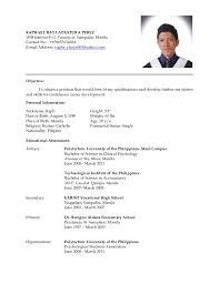Latest resume for New resume format sample .