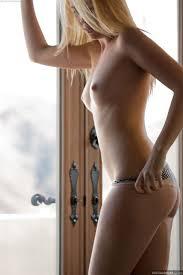 Samantha Rone pretty blonde strips in natural light Digital.