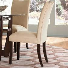dining table parson chairs interior: dining room exciting interior chair design with cozy parsons