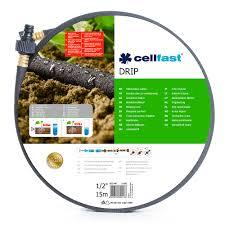 """<b>Шланг</b> для полива <b>сочащийся</b> 1/2"""" L-15 м Cellfast <b>DRIP</b> купить ..."""