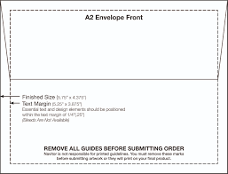 A2 Envelope Template A224 Envelope Template 2424 x 24724 FedEx Print Manager 1