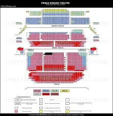 Prince Edward Theater London Seating Chart Prince Edward Theatre London Seat Map And Prices For Mary