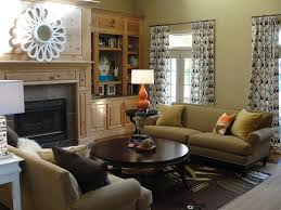 shelving beside fireplace family room eclectic with wall decor cotton area rugs