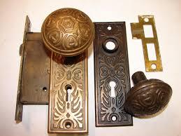 Backyards robinsons antique hardware brass iron door knobs knob  backyardsrobinsons antique hardware brass iron door knobs