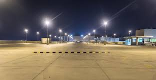 commercial exterior lighting parking lot lights