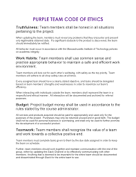 team code of ethics purple team code of ethics formatted pdf version