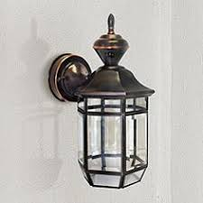 cottage outdoor lighting. Antique Copper 13 1/2 Cottage Outdoor Lighting