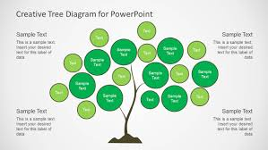 tree diagram powerpoint creative tree diagrams for powerpoint slidemodel