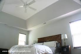 blue gray paint colorPhase 1 Master Bedroom Makeover  The Happier Homemaker