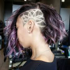 Side Cut Designs Pin On Hair