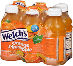 amazon welch s juice drink orange pineapple 10 ounce on the go bottles pack of 24 juice grocery gourmet food