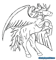 Pegasus Coloring Pages Free Colouring Pages Coloring Pages Coloring