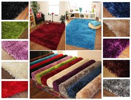 thick rugs cozy 34 thick soft ribbons high quality polyester gy rugs small large xl