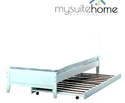 Twin Trundle Bed Frame Full Size With Frames Hi Res Steel Pop Metal ...