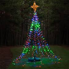 christmas tree lighting ideas. DIY Christmas Ideas. LED Lights Tree Lighting Ideas H