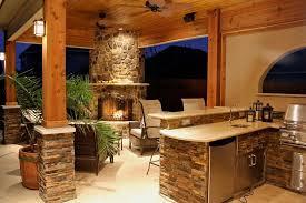 Custom Outdoor Kitchen Designs Extraordinary Rustic Outdoor Kitchen Rustic Home Ideas Pinterest Rustic