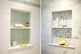 modern tile showers. Interesting Showers Finishing Shower Niche With Different Tile Is The Trendiest Idea Today In Modern Showers