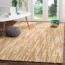 safavieh natural fiber jute natural cream area rugs